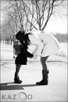 very mother should have a picture with her daughter like this!!! So cute!