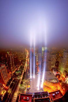 2011 Tribute in Light, 9/11 Memorial