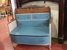 19 Upcycling Projects From Salvage Dawgs : Home Improvement : DIY Network Refurbished Furniture, Repurposed Furniture, Furniture Makeover, Recycled Dresser, Distressed Furniture, Antique Furniture, Black Dawg Salvage, Furniture Projects, Furniture Decor