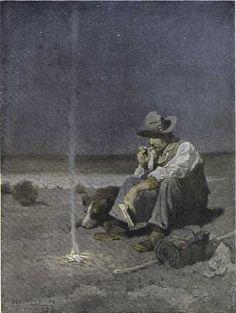 N.C. Wyeth - The Plains Herder