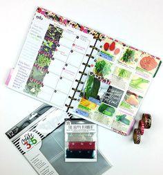Garden Calendar & Journal in The Happy Planner™ of mambi Design Team member…
