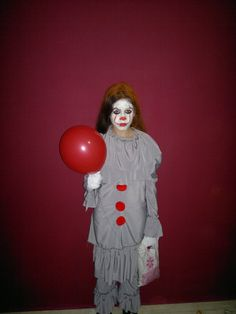 here  is  Filippa  with the hand made costume PENNYWISE  / zakoel Creations