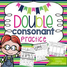 Double Consonants Ff Ll Ss Zz Worksheets  Activities No Prep