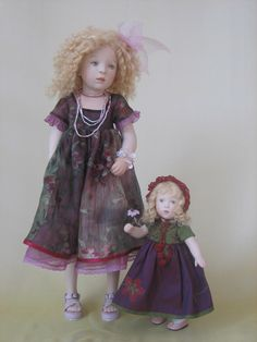 Sylvia Natterer SUNDAY AFTERNOON collection dolls, 2008