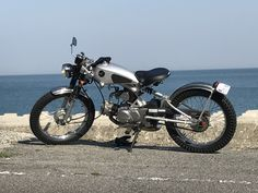 Enfield Bike, Tracker Motorcycle, Mopeds, Wild West, Scooters, Bobber, Cars And Motorcycles, Motorbikes, Honda