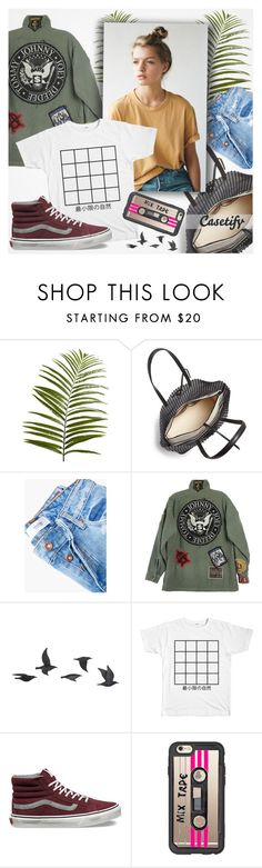 """""""♠ MixTape Case"""" by paty ❤ liked on Polyvore featuring Pier 1 Imports, Loeffler Randall, MANGO, Jayson Home, Vans, Casetify and Summer"""