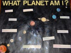 What Planet Am I? Interactive Bulletin Board