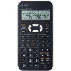 Sharp EL-531XB-WH 272 funkciós tudományos számológép  - Fehér