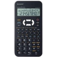 Sharp Scientific Calculator with 2 Line Display Calculus, Algebra, Student Studying, Calculator, Digital Marketing, Electronics, Wood Flooring, Jars, Solid Wood