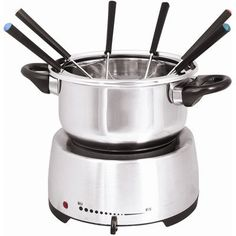 The Premium Connection KitchenWorthy Electric Fondue Set * For more information, visit image link.