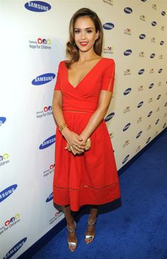 Jessica Alba attends the Samsung Hope for Children Gala 2014 at Cipriani Wall Street in New York on June 10, 2014