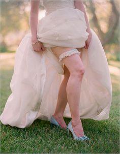 Lingerie Inspiration: Wedding Day Must-Have: Get Your Garter On!