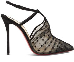 Christian Louboutin Acide 100mm tulle pumps