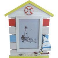 Beach Hut Photo Frame Beach Home Decor