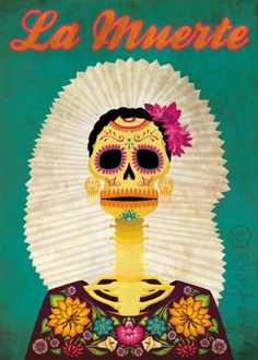 catrinaweb Tehuantepec, for the 8th International Festival of the Dead Day of ACADAC - Clara Keys