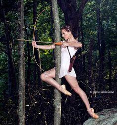 What could be better? Katness Everdeeen as a ballet dancer