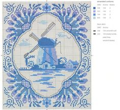 Gallery.ru / Фото #12 - Blue & White Cross Stitch-Helena Turvey - Orlanda