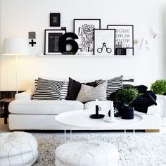 Mosslanda picture ledge (Ikea) - this or something like it for Library wall