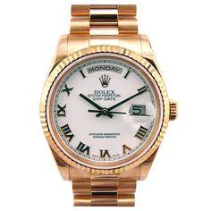 pink gold Rolex