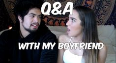 Q and A with my Boyfriend!