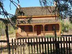 One of the houses I took a picture of in the ghost town of Grafton, Utah...