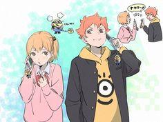 Haikyuu Karasuno, Haikyuu Fanart, Haikyuu Anime, Haikyuu Ships, Happy Tree Friends, Hinata, Teacher Cartoon, Vocaloid, Girl Drawing Sketches