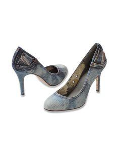 diesel denim heels <3
