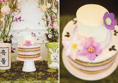 A+Fairy+Tale+First+Birthday+(Dol+Celebration) I want that rainbok dduk cake!
