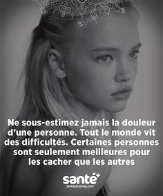 Meilleur Vie Positive, Positive Attitude, Positive Affirmations, Cute Inspirational Quotes, Sad Quotes, Life Quotes, French Words, French Quotes, Evolution Quotes