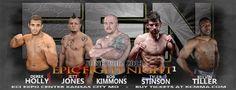 Buy tickets to Epic Fight Night 1, Kimmons vs. Stinson.  shop.kcmma.com