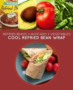 The wrap makes it more fun, but this works on bread too. Recipe here.