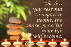 The less you respond to negative people, the more peaceful your life will become. Negative Attitude Quotes, Negative People Quotes, Toxic People Quotes, Words Quotes, Wise Words, Me Quotes, Sayings, Cute Love Pictures, Family Rules