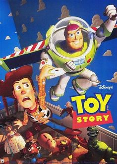 "November 22 - The first ever full length computer animated feature film ""Toy Story"" was released by Pixar Animation Studios and Walt Disney Pictures. Disney Pixar, Film Disney, Disney Movies, Childhood Movies, 90s Movies, Pixar Movies, Great Movies, Animation Movies, Cartoon Movies"