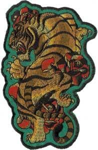 www.brokencherry.com #patch #tiger #tattoo  Tiger Patch  $6.00