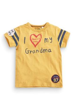 Buy I Love My Grandma T-Shirt (3mths-6yrs) online today at Next: United States of America