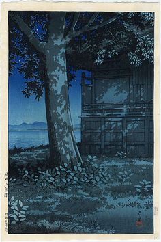 "Hasui, Kawase (1883-1957) , ""Lake Hachirogata, Akita"""