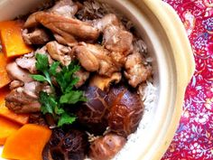 Chinese Clay Pot Chicken Rice