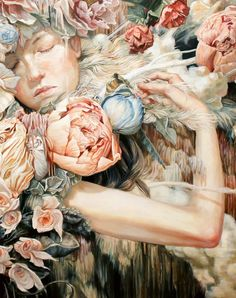 'Ecstatica II' oil painting by Meghan Howland