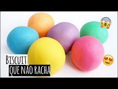 Massa de Biscuit Colorida que NÃO RACHA!!!!!  - YouTube