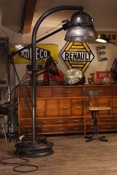 1000 images about meuble industriel vintage de renaud jaylac on pinterest atelier deco and loft. Black Bedroom Furniture Sets. Home Design Ideas