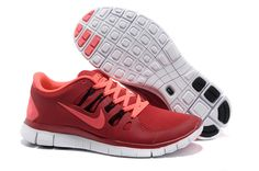 91353525f4 Nike Free 5.0+ Mens Red Pink Running Shoes Adidas Nmd, Adidas Shoes, Pink