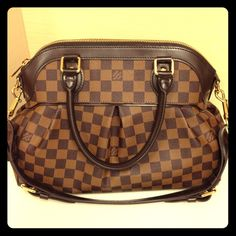Authentic Louis Vuitton Damier Trevi PM Pre-owned in very good condition, clean inside & out, comes with dust bag. Date Code S00140. If interested I can email more photos. Louis Vuitton Bags