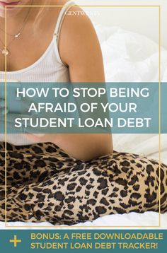 You're afraid of your student debt. So afraid, in fact, that you don't even know exactly how much you owe or to whom. How did it end up like this? [Click through for your FREE Student Loan Debt Tracker!] #freebie #download #twentysomething #learning #debt #debtfree #finance #personalfinance #money #budget #moneytips