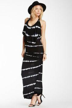 Ciara Flutter Halter Maxi Dress by YFB on @HauteLook