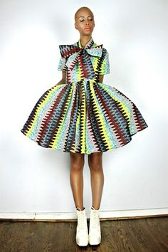 The Minnie Bell- African Print  100% Holland Wax Cotton Dress. ~Latest African Fashion, African Prints, African fashion styles, African clothing, Nigerian style, Ghanaian fashion, African women dresses, African Bags, African shoes, Nigerian fashion, Ankara, Kitenge, Aso okè, Kenté, brocade. ~DK