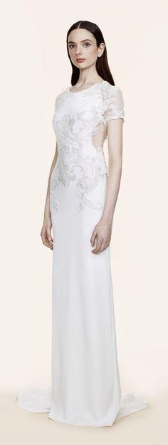 Talbot runhof resort 2016 fashion show talbots resorts for Talbots dresses for weddings