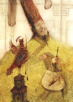The Emperor and the Nightingale by Igor Oleynikov