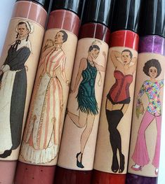 Cages Through the Ages - lip gloss featuring Nicolas Cage!