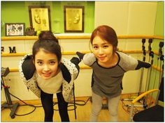 """Yoo In Na and IU's Strong Friendship Reflected through OnStyle's """"Get It Beauty"""""""
