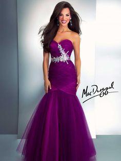 Turquiose Mermaid Prom Dress - Mac Duggal 64442A